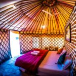 Yurt Tent Bikamp Aravallis Resorts in Sariska