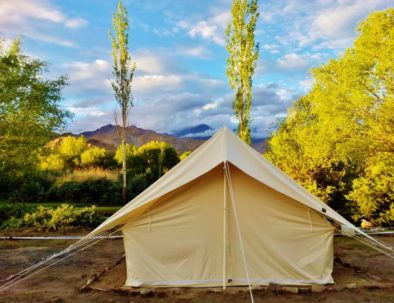 Tents at Bikamp Camping in Leh Ladakh(10ft X 10 ft)