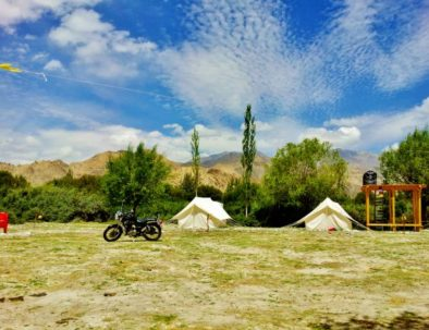 Play Areas at Bikamp Camping at Leh Ladakh